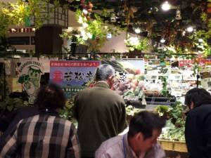 若松産直野菜品出し