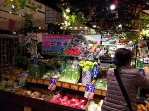 若松産直野菜のポップ