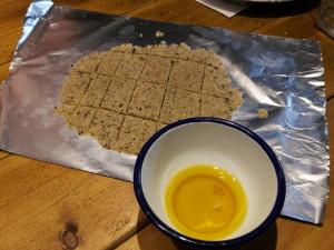 菜種油で作るクッキー