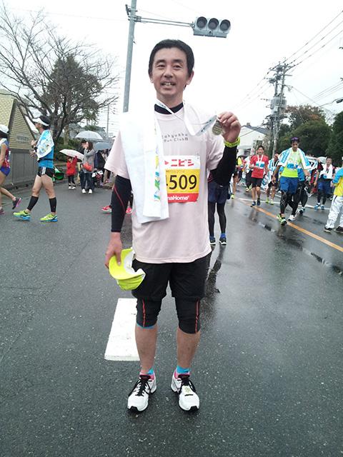 福岡マラソン2014無事完走