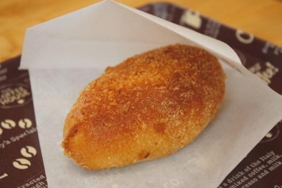 菜種油を使ったカレーパン