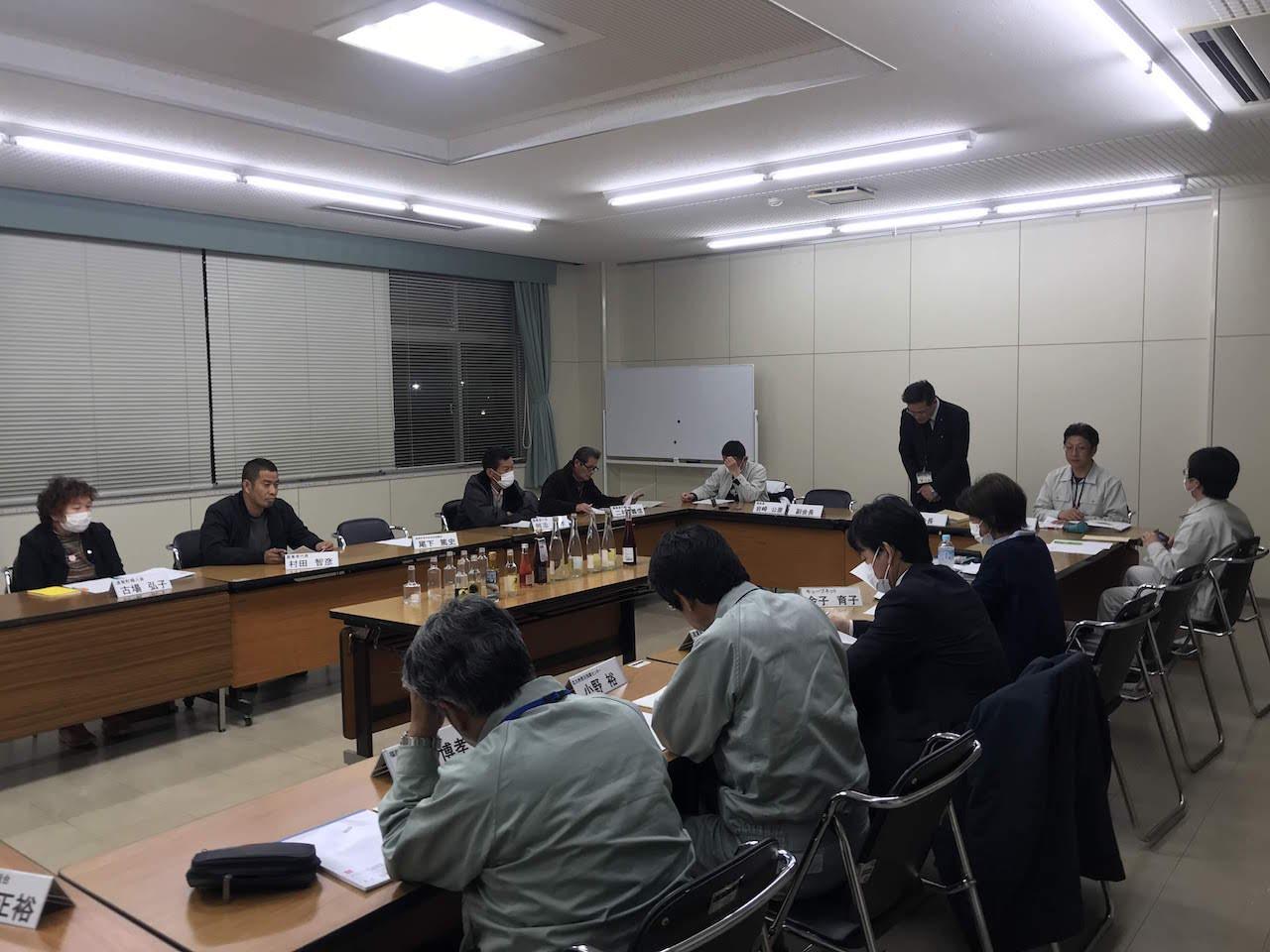 遠賀町ブランド化推進協議会に参加しました